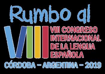 Monse Radio en el octavo congreso internacional de la lengua española.